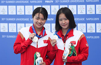 China Wins Silver of Women's S