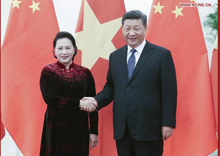 Xi Calls on China, Vietnam to Lift Ties to New Level